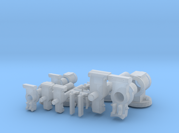 """6"""",4"""" and parrot vise set in Smooth Fine Detail Plastic"""