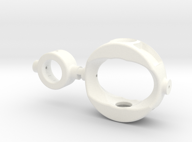 StablyPro5 - Gimbal in White Strong & Flexible Polished