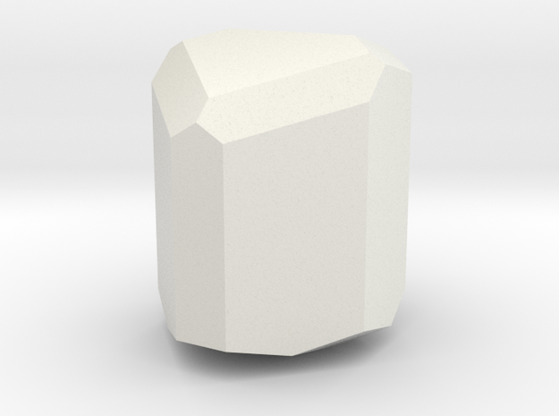 Clinopyroxene in White Natural Versatile Plastic