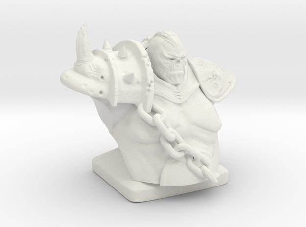 Troll warrior  in White Strong & Flexible