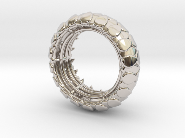 LEAFY Ring Size 7 (17.3mm) 3d printed