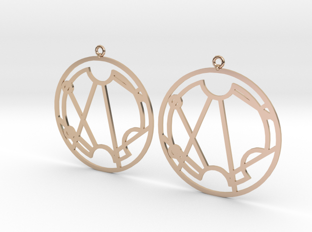 Stacie - Earrings - Series 1 in 14k Rose Gold