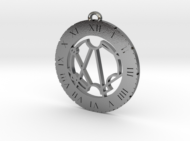 Stacie - Pendant in Polished Silver