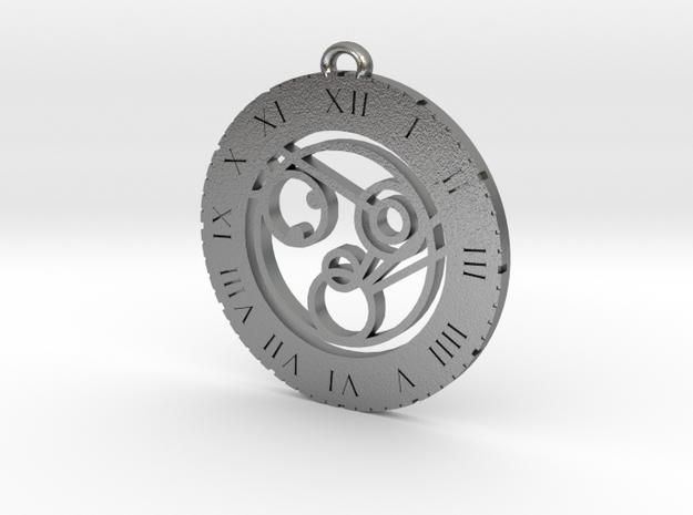 Monica - Pendant in Natural Silver