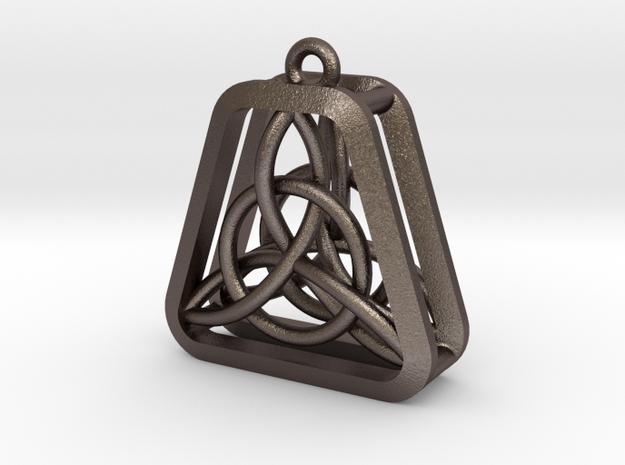 Triad Knot Key Chain