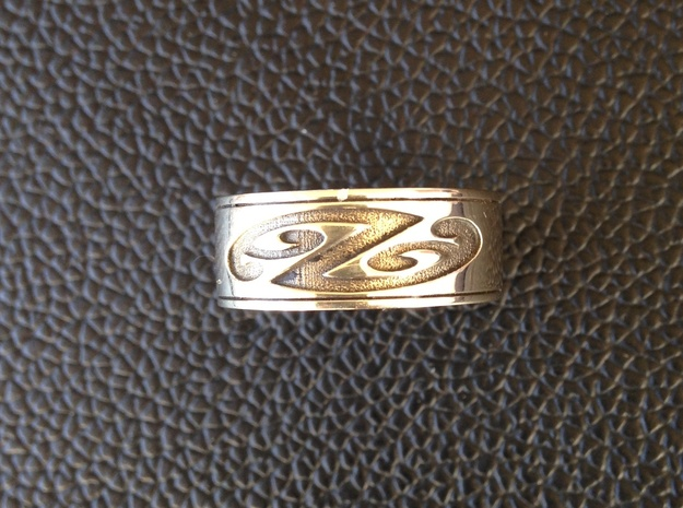 Jean Ring Size 9 in Polished Silver