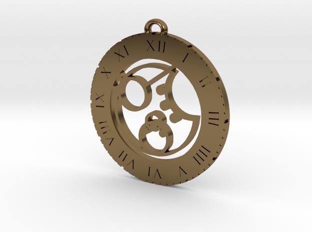 Lorna - Pendant in Polished Bronze