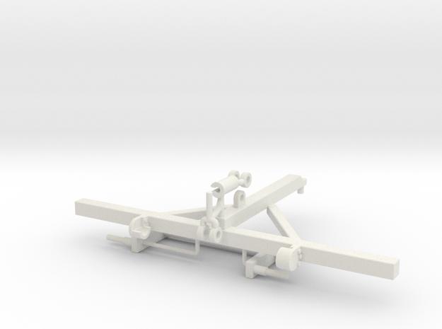 1/64 12.5' Crumbler Frame in White Natural Versatile Plastic