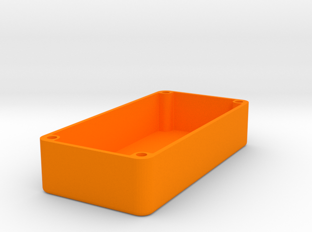 1590G Squared Design (No Lean) in Orange Strong & Flexible Polished