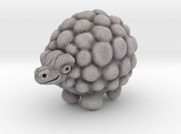 stone sheep in Full Color Sandstone