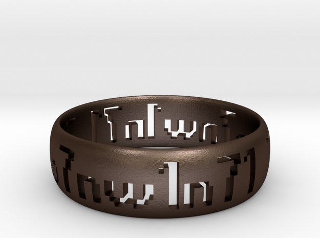 Ring.7w07.n71.nw1 Two.8 Sz11 21.0mm 3d printed