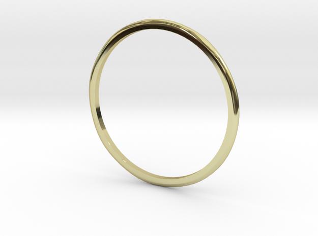 """Ring 'Subtle' - 16.5cm / 0.65"""" - Size 6 in 18k Gold"""