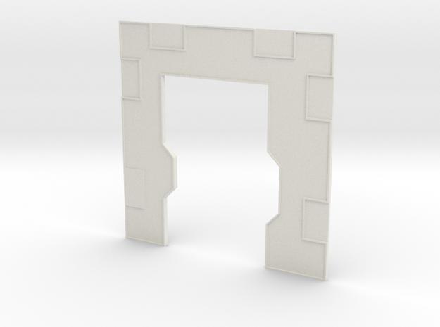 Left Interior door in White Natural Versatile Plastic