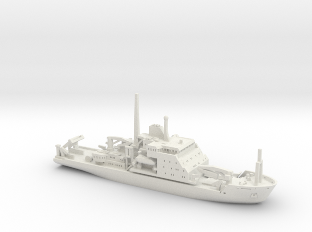 RRS James Clark Ross (1:1200) 3d printed