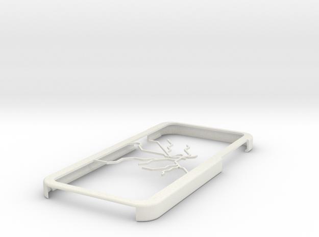 Stockholm Metro map iPhone 6 case in White Natural Versatile Plastic