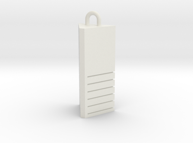 Fifth Element - Earth Stone in White Natural Versatile Plastic