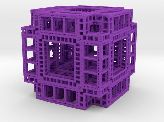 MengerKoch Fractal Cube 3d printed
