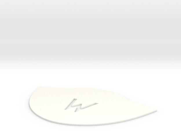 Custom Monogram Drip Plate for Keurig B50 B60 in White Strong & Flexible Polished