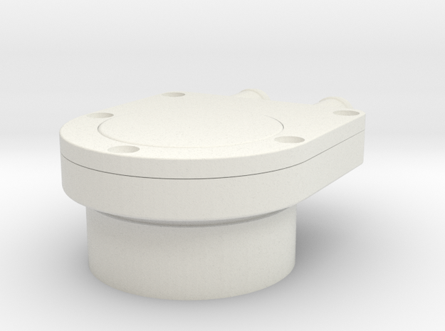 Apollo Scaled Split Adapter for Revell Man on the  in White Natural Versatile Plastic
