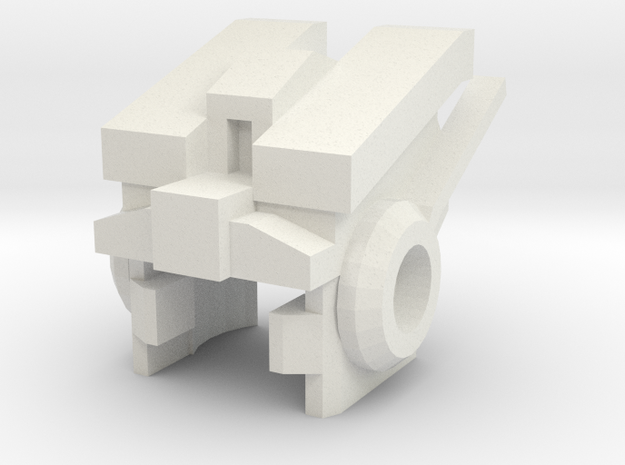 Robohelmet: Jungian-bot in White Strong & Flexible