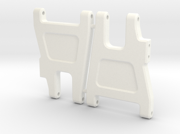 '91 Worlds Conversion - Rear Arms 2.0 in White Processed Versatile Plastic
