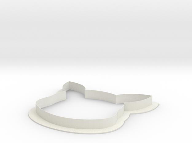 Pikachu Cookie Cutter in White Natural Versatile Plastic