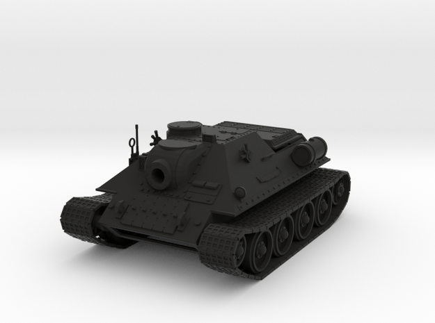 Ice Guards SU-122M Tank destroyer 3d printed
