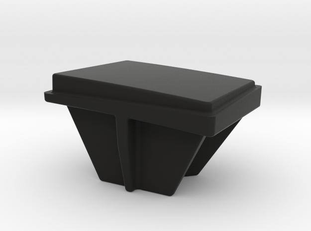 AirBeam Switch Cap in Black Natural Versatile Plastic