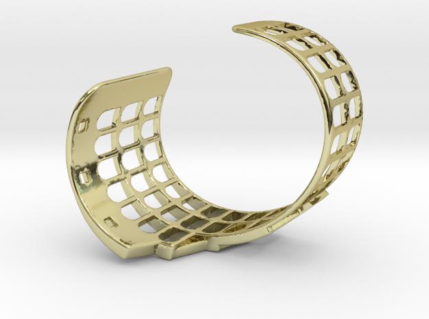 COLOSSEUM BRACELET ORIGINAL (Cut Through) Small in 18k Gold Plated Brass