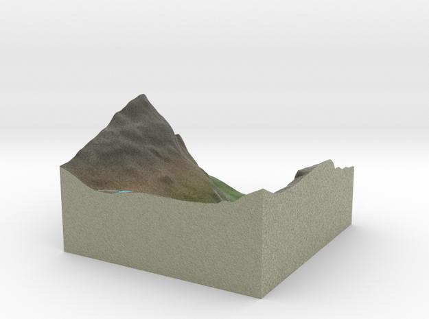 Terrafab generated model Tue Dec 30 2014 10:36:56  in Full Color Sandstone