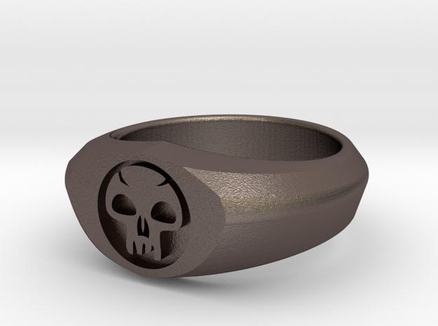 MTG Swamp Mana Ring (Size 8)