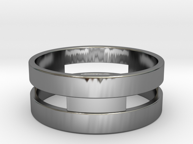 Ring g3 Size 8.5 - 18.53mm in Premium Silver