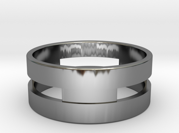 Ring g3 Size 7.5 - 17.75mm in Premium Silver