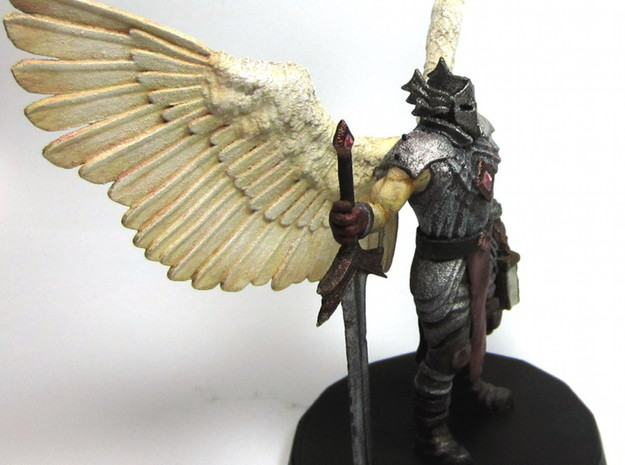 Bringer of Justice 3d printed Side - Painted