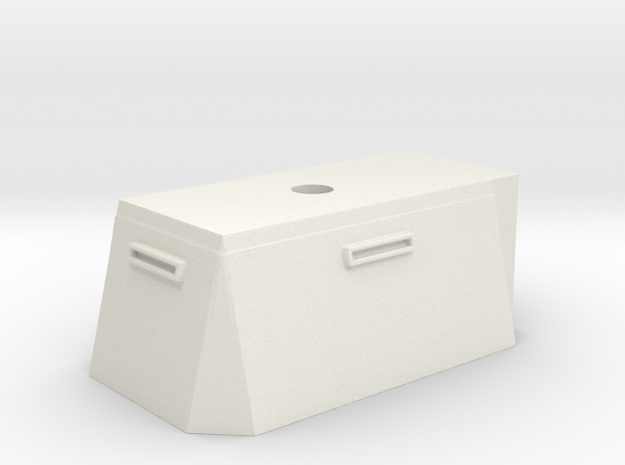 Bunker #1 in White Natural Versatile Plastic