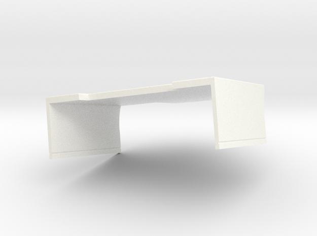 Topp Og Sideskjørt2 in White Processed Versatile Plastic
