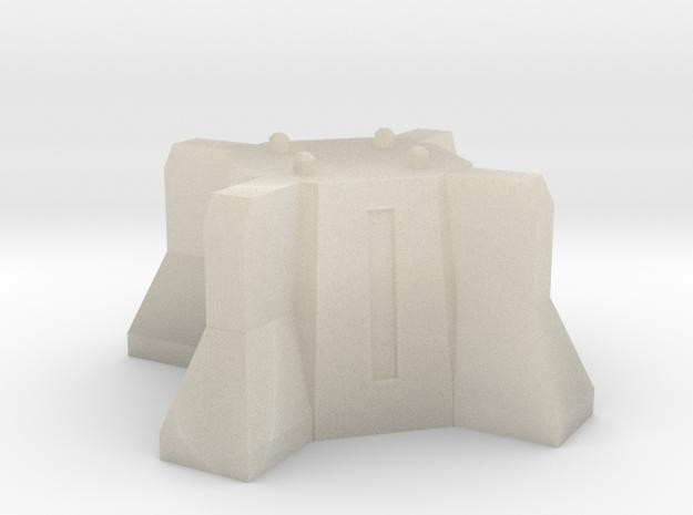 pedestal for turrets 3d printed