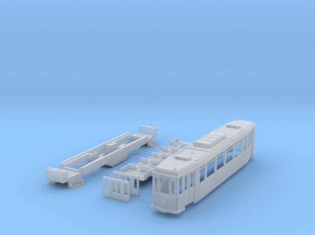 MÜBAG Vierachser Straßenbahn 3d printed