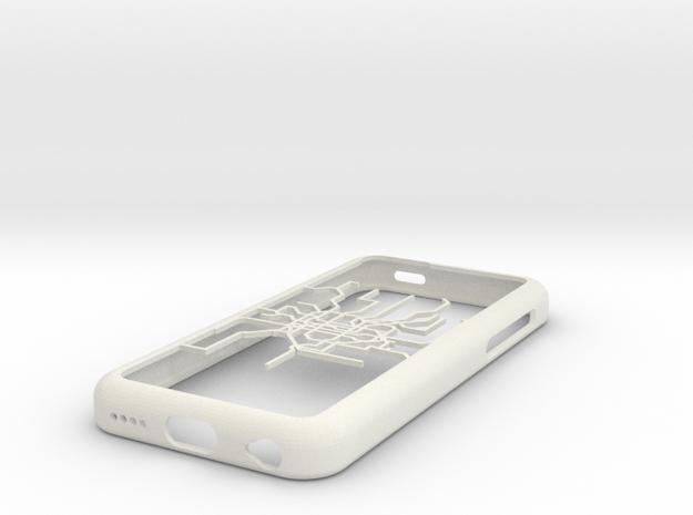 Shanghai Metro map iPhone 5c case in White Natural Versatile Plastic