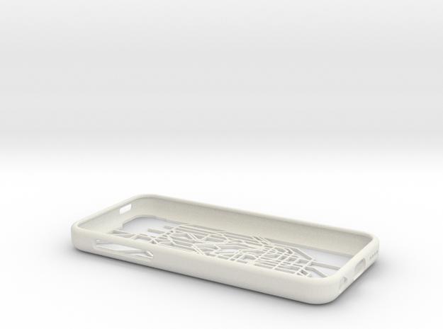 Tokyo Metro map iPhone 5c case in White Natural Versatile Plastic