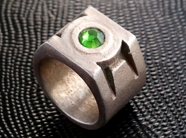 Green Lantern Ring - Size US10.5 3d printed