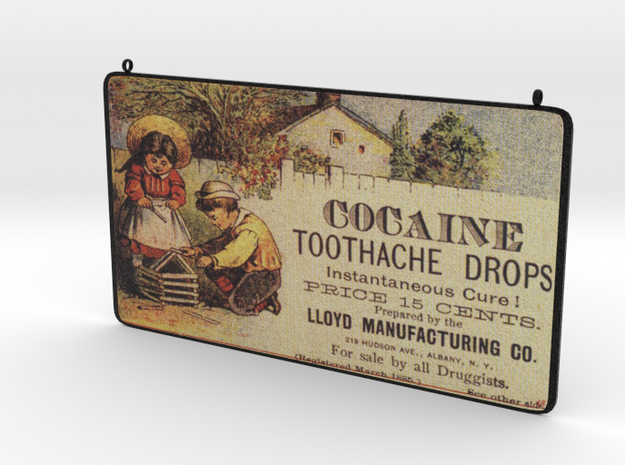 Toothache Vintage Advertisement in Full Color Sandstone