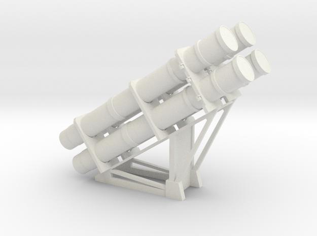 1:48 scale RGM-84 HARPOON launchers