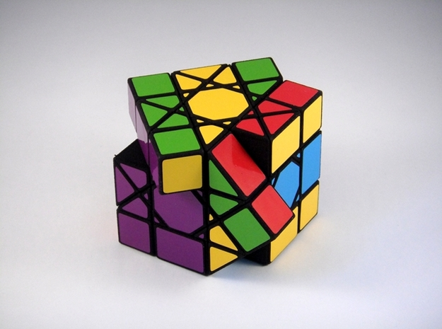 OctoCube Puzzle 3d printed Multiple Turns
