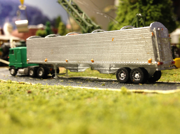 Grain Trailer Z Scale