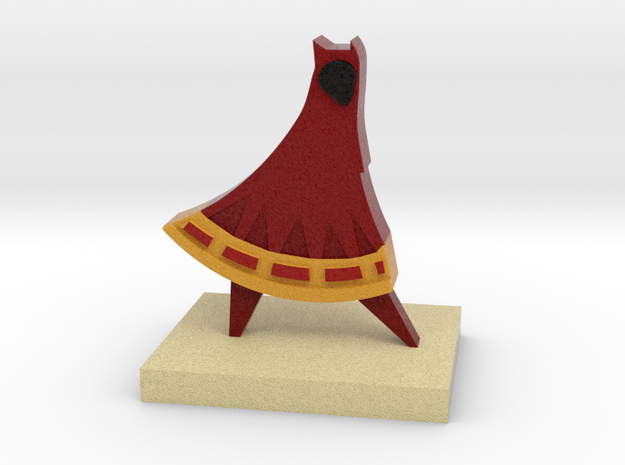 Journey Companion Trophy in Full Color Sandstone: Medium
