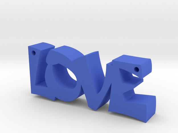 Love in Blue Processed Versatile Plastic