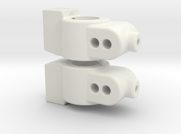 CUSTOMWORKS - HUB CARRIER - 2 DEGREE - SW FILE in White Natural Versatile Plastic
