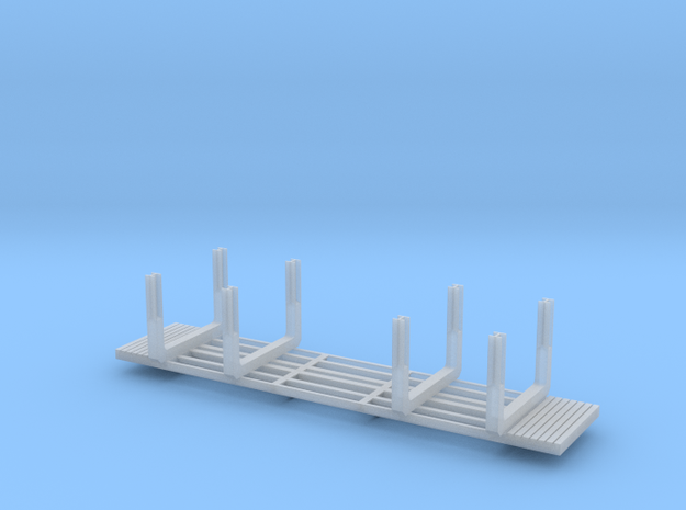 NP-BN Log Bunks Heavy HO 03b in Smooth Fine Detail Plastic