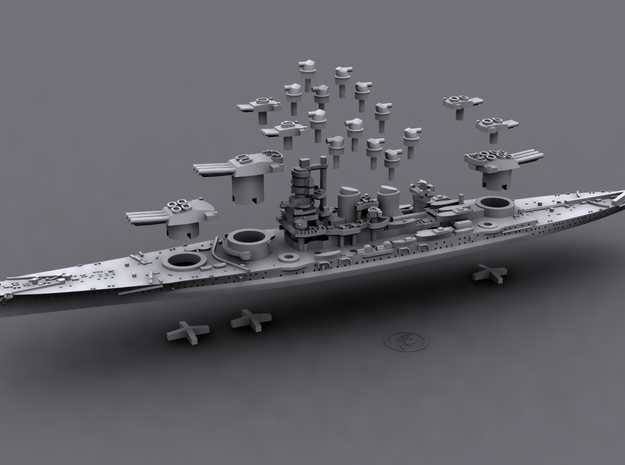 1/1800 IT BB Roma[1943] 3d printed